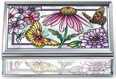 Amia 40005 Aubergine Merci Beaucoup Jewelry Box