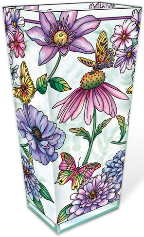 Amia 40007 Aubergine Merci Beaucoup Large Vase