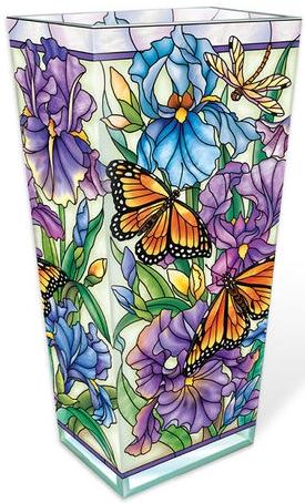 Amia 40018 Iris Meadows Large Vase
