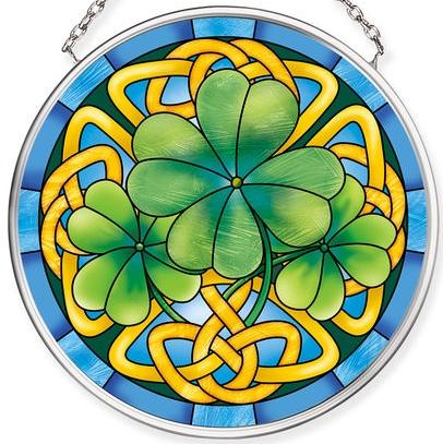 Amia 40074N Ireland Tiffany Small Circle Suncatcher