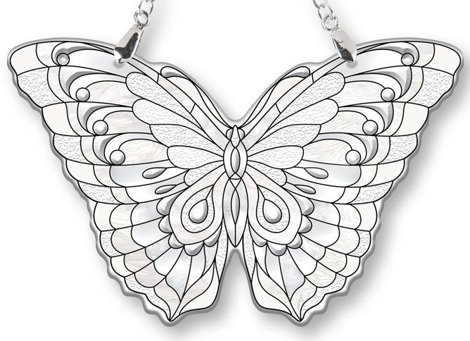 Amia 40096 Diamond Butterfly Suncatcher