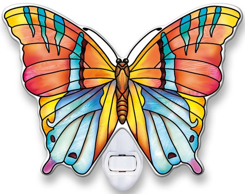 Amia 40109 Topaz Butterfly Night Light Nightlight