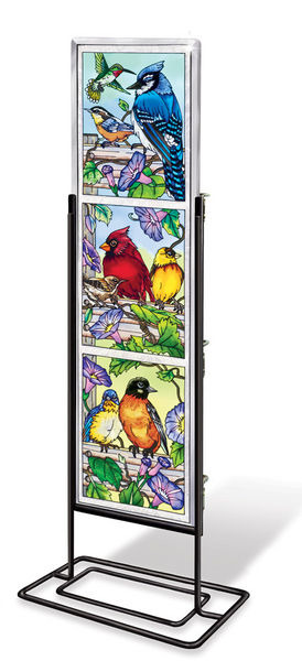 Amia 41047 Rail Birds Beveled Panel