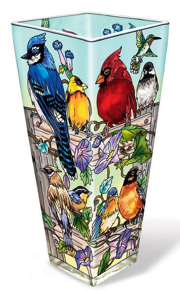 Amia 41056 Rail Birds Vase
