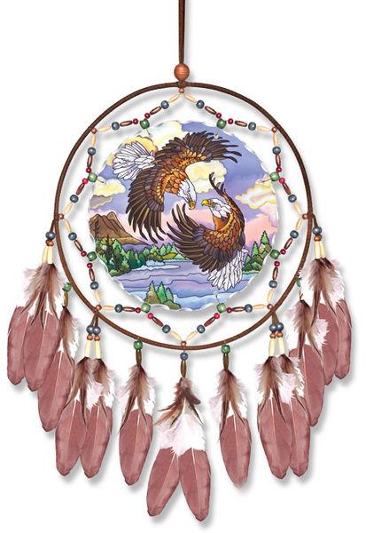 Amia 41118 Dancing Eagles Dreamcatcher