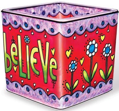Amia 41154 Believe Small Votive Holder