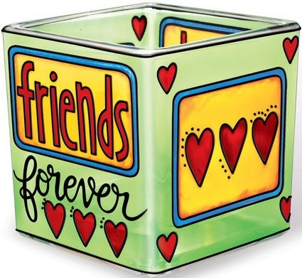 Amia 41156 Friends Forever Small Votive Holder