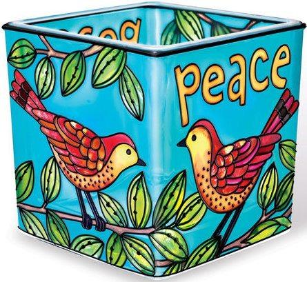Amia 41163 Peace Small Votive Holder
