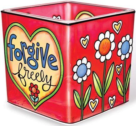 Amia 41165 Forgive Small Votive Holder