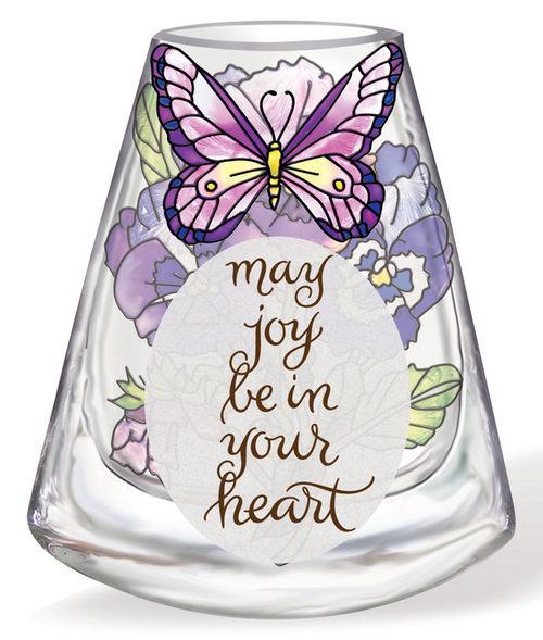 Amia 41173 Pansy Vase - Inspirational