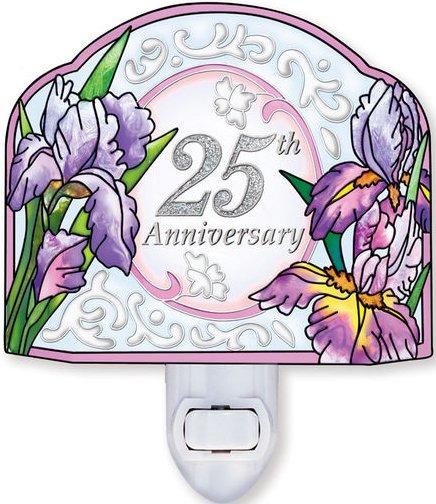 Amia 41195 25th Anniversary Screen Shaped Night Light