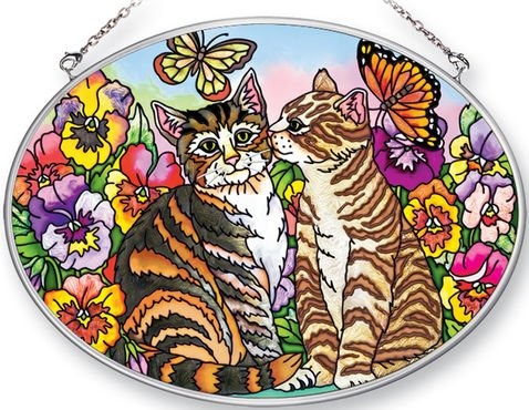 Amia 41389 I Have A Secret Medium Oval Suncatcher