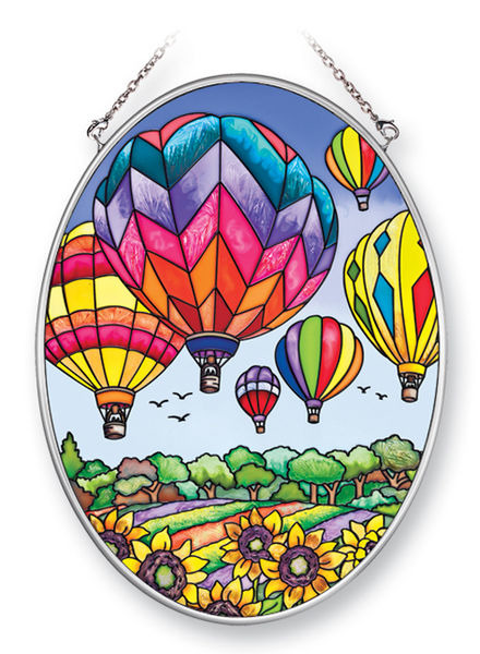 Amia 41393 Up and Away Medium Oval Suncatcher
