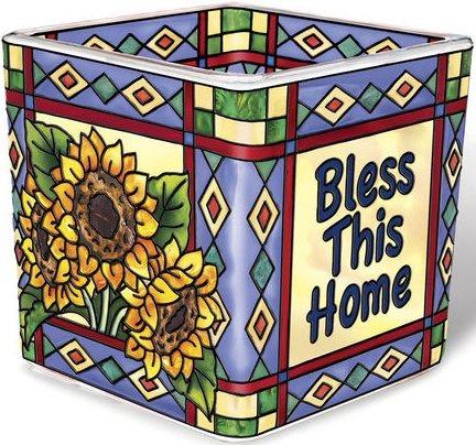 Amia 41550 Bless This Home Petite Votive Holder