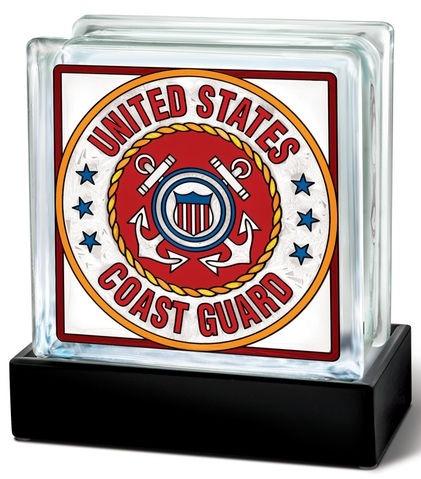 Amia 41803 Coast Guard Beveled Glass