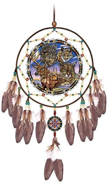 Amia 41814 Native Wildlife Dreamcatcher