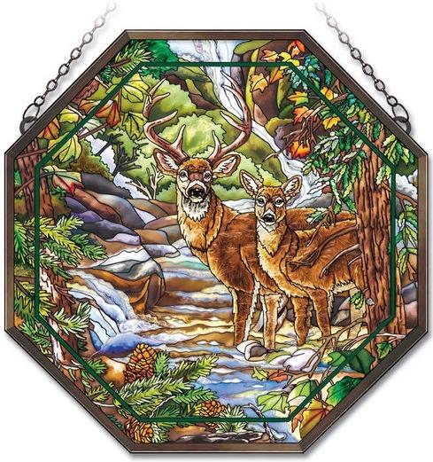 Amia 41841 Deer Creek Beveled Medium Octagon Panel