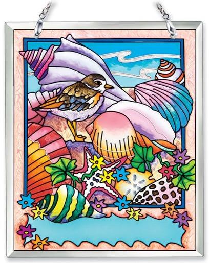 Amia 41858 Beach Shells Souvenir Suncatcher