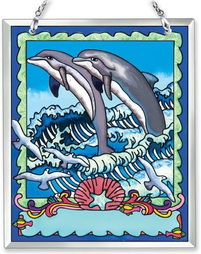 Amia 41861 Dolphins Souvenir Suncatcher