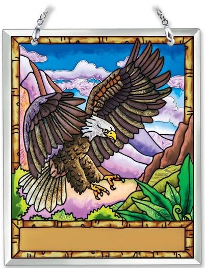 Amia 41870 Eagle Souvenir Suncatcher