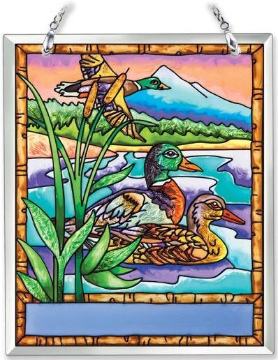 Amia 41871 Mallard Ducks Souvenir Suncatcher