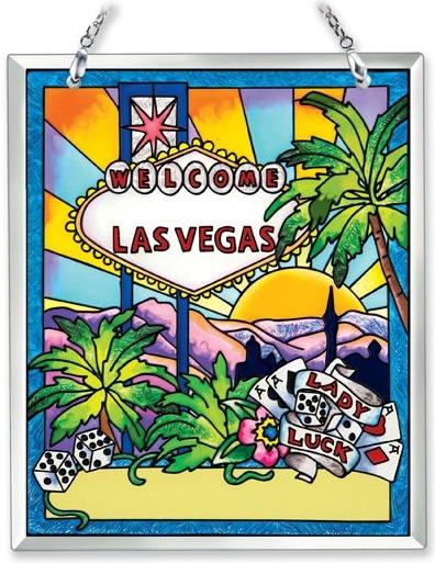 Amia 41894 Las Vegas Souvenir Suncatcher