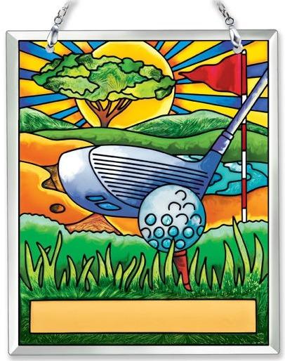 Amia 41898 Golf Souvenir Suncatcher