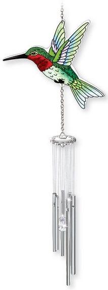 Amia 42043 Hummingbird Windchimes