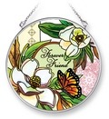 Amia 42068 Forever Friend Medium Circle Suncatcher