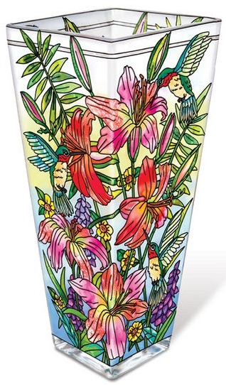 Amia 42125 Daylilies and Associates Vase