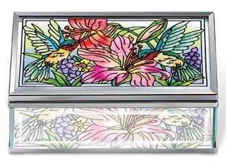 Amia 42127 Daylilies & Associates Jewelry Box