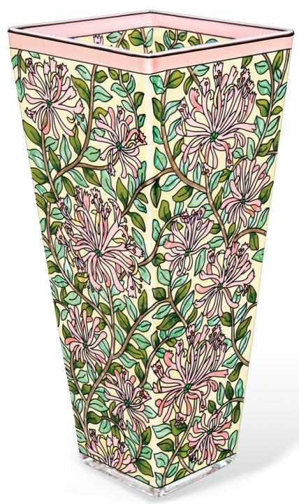 Amia 42172 Honeysuckle Arts & Craft Vase Large