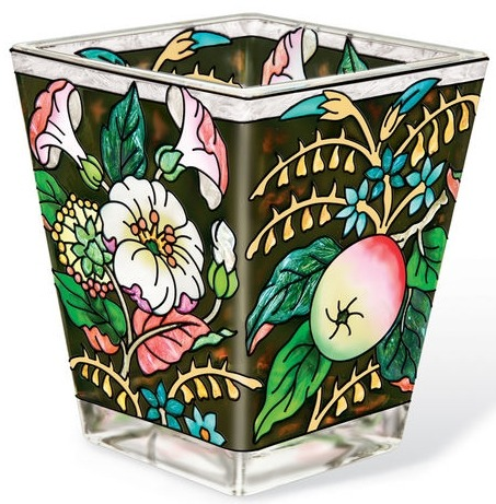 Amia 42181 Flower and Small Apple Petite Votive Holder