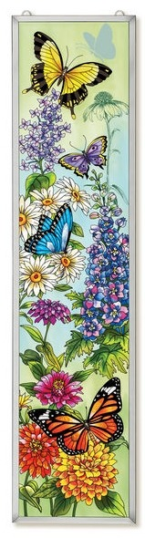 Amia 42200 Butterfly Garden Window Panel