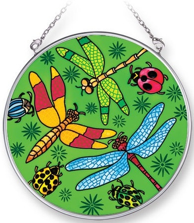 Amia 42276 Multi Insects Medium Circle Suncatcher