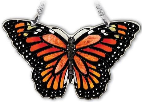 Amia 42322 Monarch Small Water Cut Suncatcher