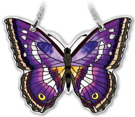 Amia 42337 Purple Emperor Small Water Cut Suncatcher