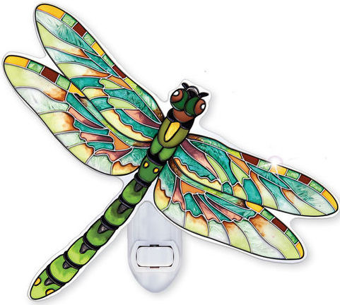Amia 42349 Eastern Pondhawk Dragonfly Night Light