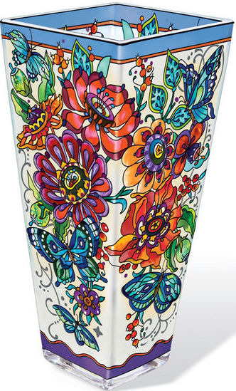 Amia 42359 Frilly Floral Vase Large