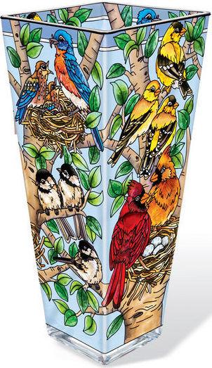 Amia 42389 Nested Birds Vase Large