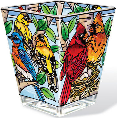 Amia 42390 Nested Birds Petite Votive Holder