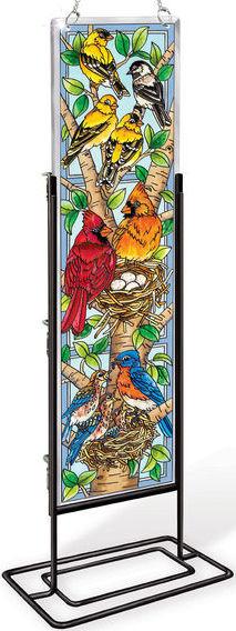 Amia 42393 Nested Birds Beveled Panel