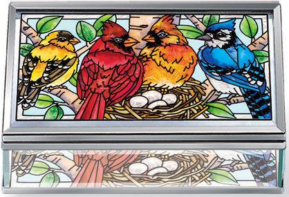 Amia 42394 Nested Birds Jewelry Box
