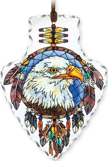 Amia 42418 Eagle Small Arrowhead Suncatcher