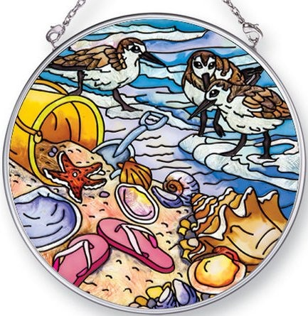 Amia 42439 Beach Treasures Medium Circle Suncatcher