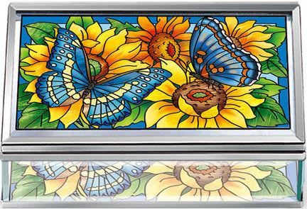 Amia 42503 Color On The Prairie Medium Jewelry Box