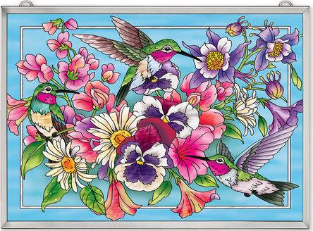 Amia 42516 Hummingbirds Alight Panel