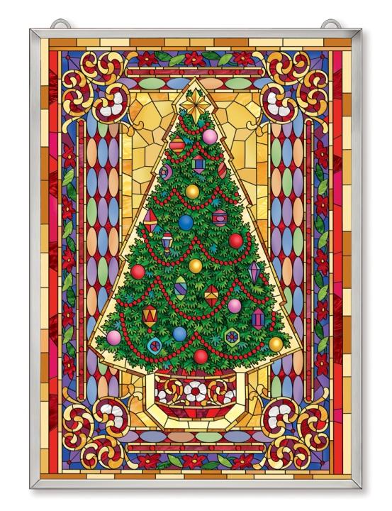 Amia 42527 Mosaic Christmas Tree Panel