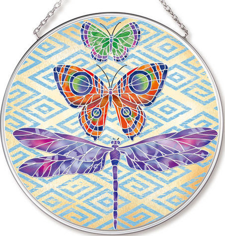 Amia 42539 Enchanted Wing 1 Medium Circle Suncatcher