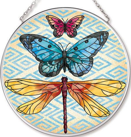 Amia 42540 Enchanted Wing 2 Medium Circle Suncatcher